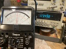Simpson 260 8 Multimeter With New Leads Completely Tested Excellent Condition