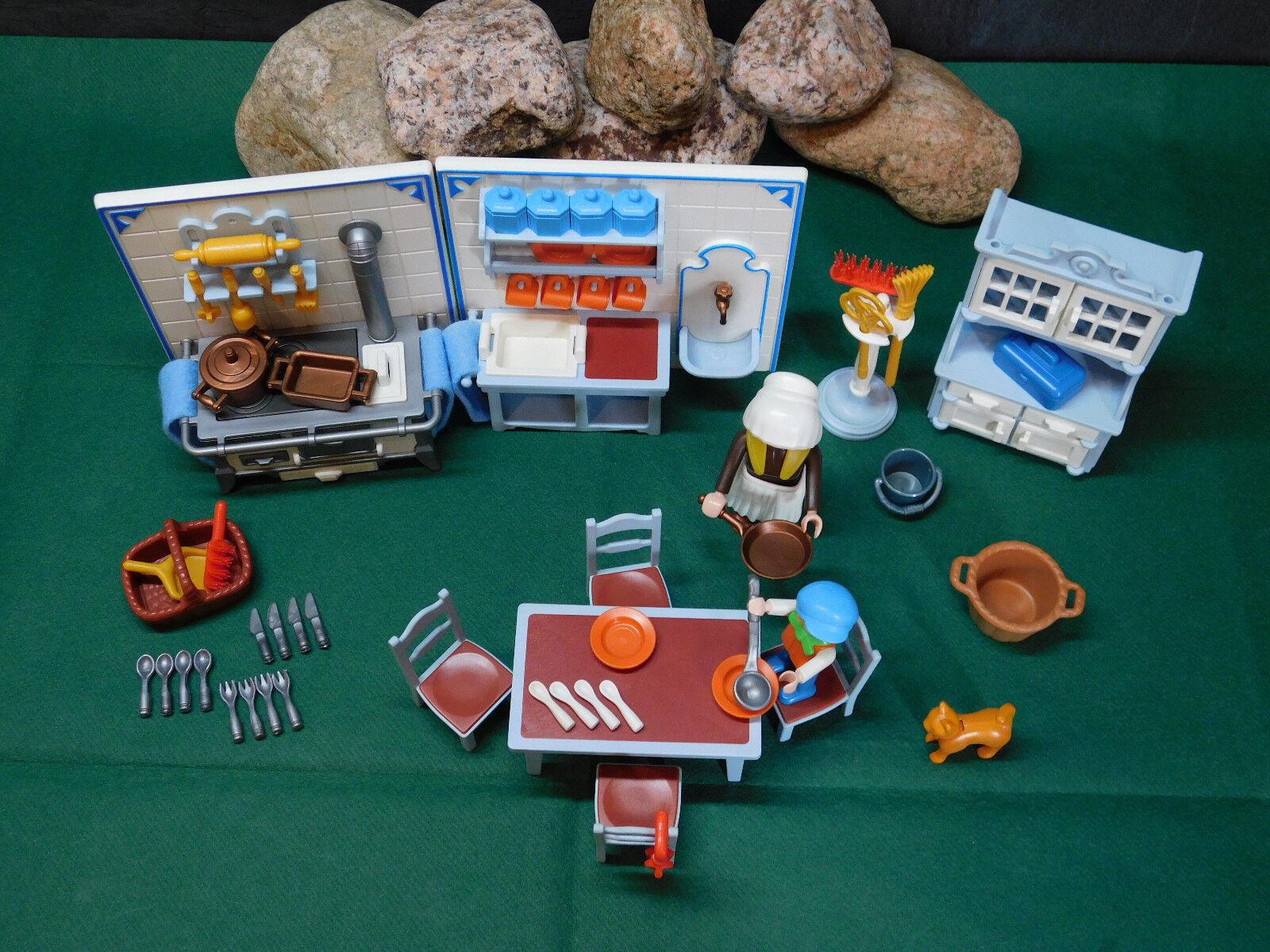 Playmobil Rarität Nostalgie Rosa Serie Küche 5322-A 1989 1989 1989 ohne OVP 125558