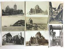 T8662    QUEBEC CITY,  QC.,  CANADA  POSTCARD LOT,     6 DIF.  REAL PHOTO  CARDS
