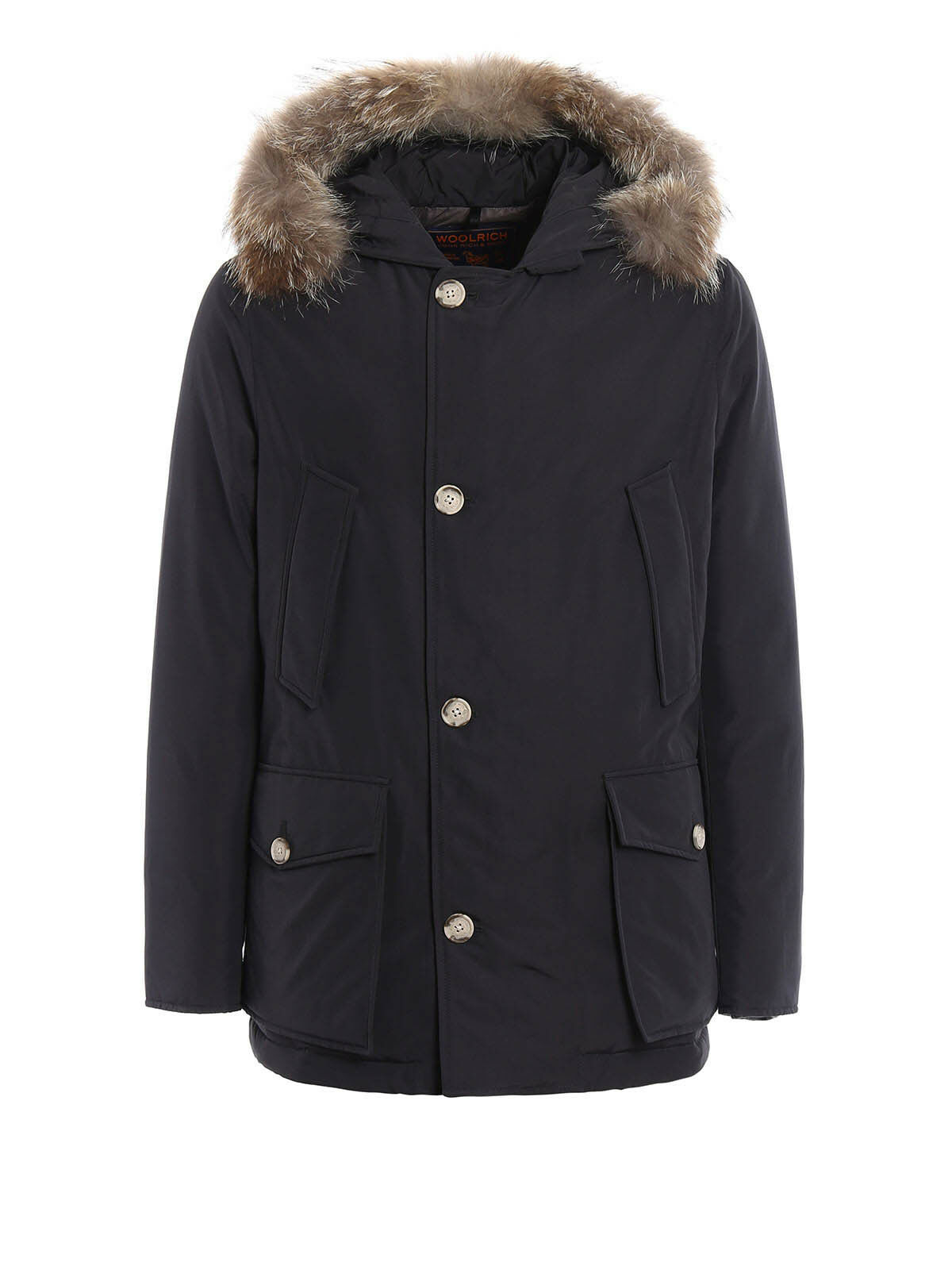 WOOLRICH ANORAK PARKA (Slim Fit) UOMO colore BLU - WOCPS2739CN03.DKN