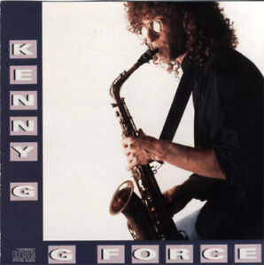 CD-KENNY-G-G-Force-CD-album-smooth-jazz-very-good-condition-Arista-1988