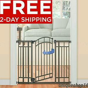 Image Is Loading Tall Walk Thru Safety Gate Pet Dog Toddler