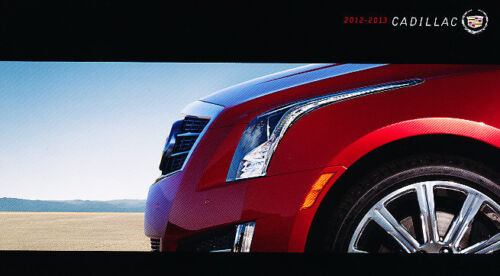 2012 Cadillac Cars Sales Brochure ATS XTS CTS CTS-V Escalade SRX