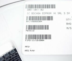 93C46A-EEPROM-LOT-of-25-ATMEL-SOIC-8-AT93C46A-10SI-1-8
