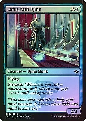 Lotus Path Djinn (039/185) - Fate Reforged - Common (Foil)