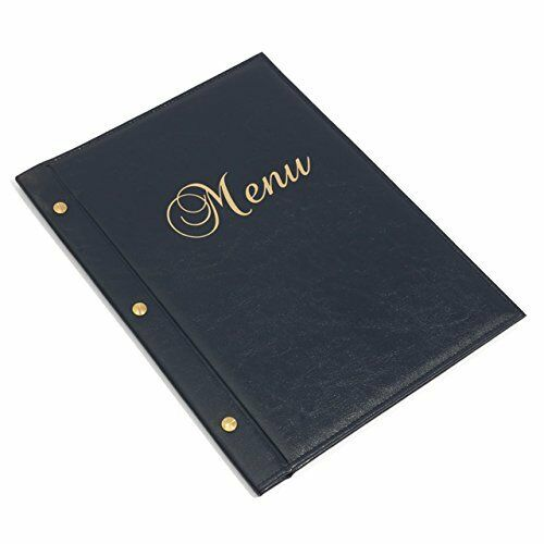 Menu Holder RESTAURANT PUB Sign Bar Catering luxury A4 Display meal list COVER