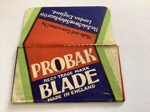 Vintage-Razor-Blade-amp-Wrapper-Probak-England