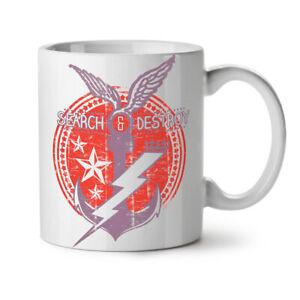 Navy Symbol Vintage NEW White Tea Coffee Mug 11 oz | Wellcoda