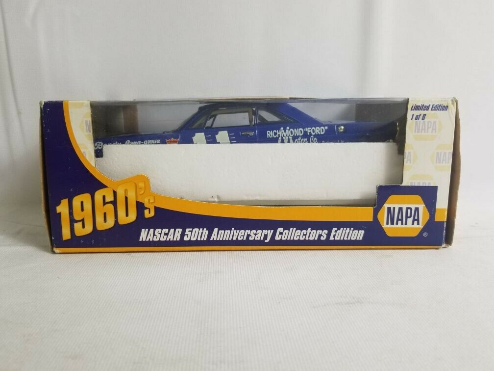 Action Nascar 50th Anniversary Ned Jarrett 1 24 Napa 1965 Ford Galaxie  11