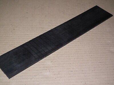Soprano Ukulele Fingerboard Ebony. Slotted 346mm Scale.