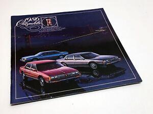 1986 Oldsmobile Ninety-Eight Regency Delta 88 Royale Custom Cruiser Brochure