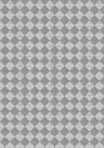 puppenstubentapete-papel pintado para casa de muñecas * suelo 060 C *