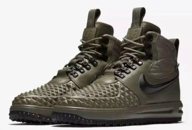 acheter en ligne a35d5 b5285 RARE Nike Lf1 Duckboot 17 Size 9.5 Green Air Force Shoes 916682 202