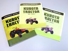 KUBOTA L225DT DIESEL TRACTOR OPERATORS OWNERS/PARTS SERVICE MANUAL D1100-A