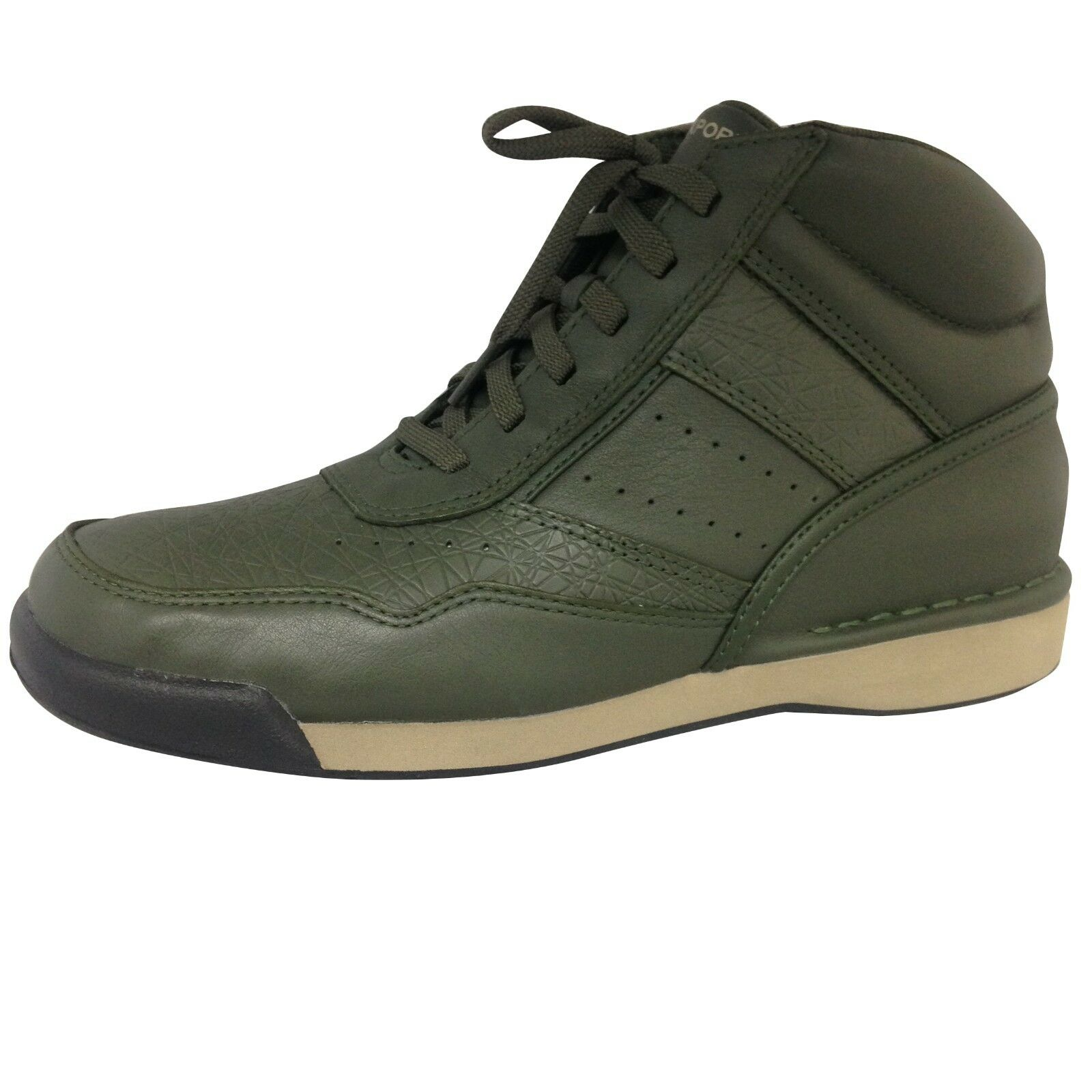 Rockport 7100 Boot High Forest Night Green Walking Shoe