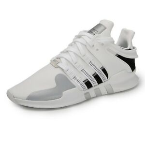 Details about ADIDAS EQUIPMENT SUPPORT ADV MEN'S RUNNING SHOES AC7372 WHITE BLACK SILVER
