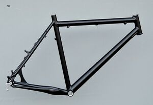 Mountainbike-Rahmen-56-cm-Alu-schwarz-matt-26-034-Disc-V-Brake-NR711