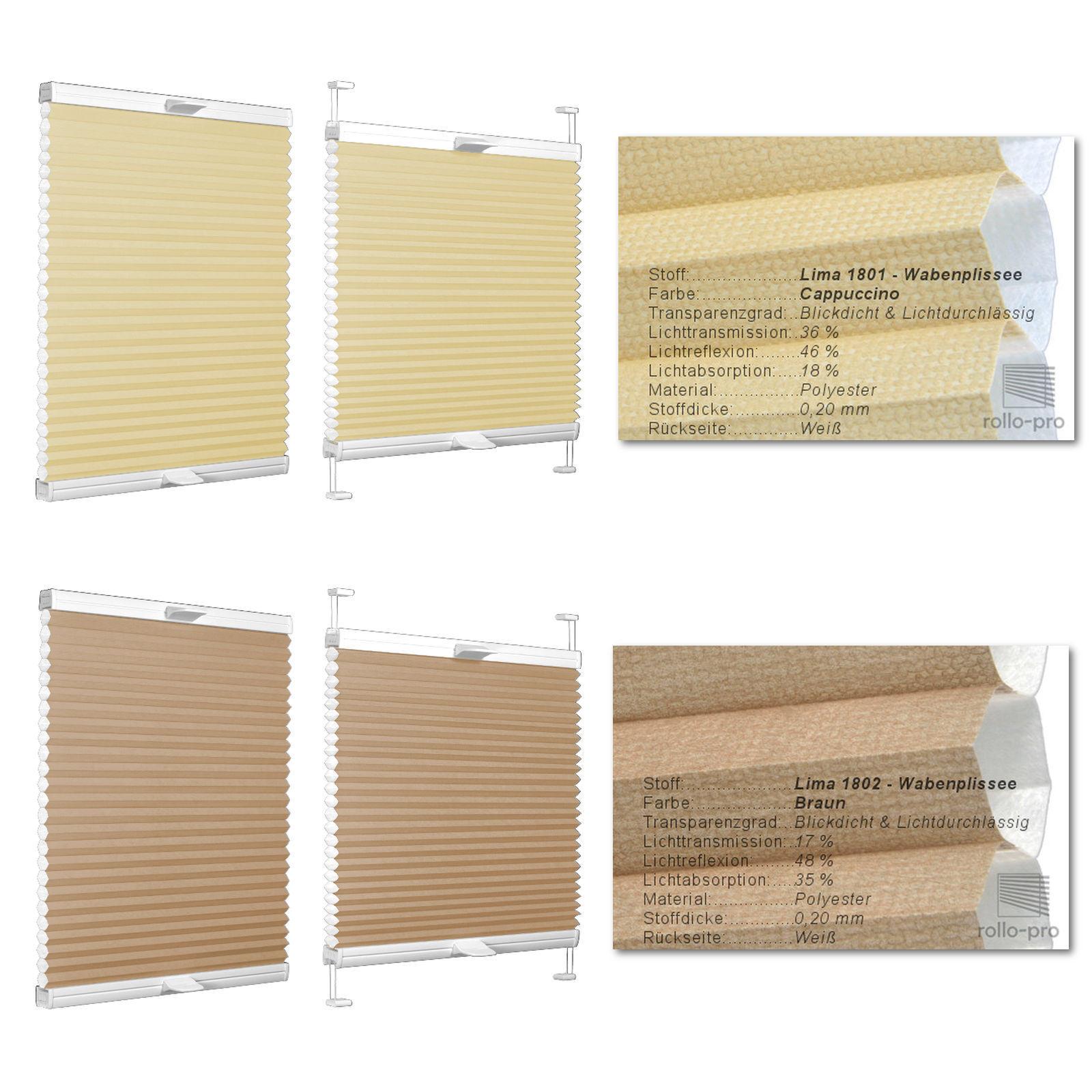 Premute plissettata plissettata plissettata duoplisse faltrollo faltstore ► LIMA ► ALU-rossoaia plissees persiane e65500