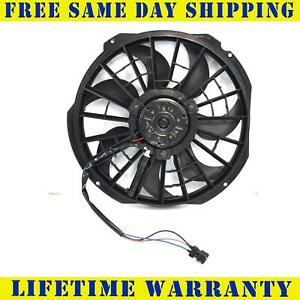 A//C Condenser Cooling Fan For 98-99 BMW 323i E36 Models w// AC condenser mounted