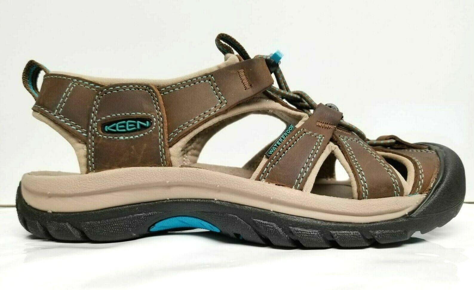 Garantía 100% de ajuste Keen 1003993 Para Para Para mujeres Cuero Impermeable Lavable De Venecia todo terreno Sandalia Zapatos  se descuenta