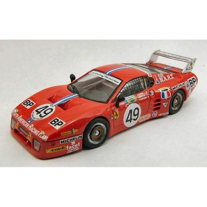 Best Model bt9385 Ferrari 512 BB LM n.49 LM 1981 Cudini-gurdjian Morton 1 43