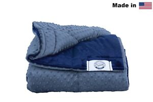 Queen-Size-Luxury-Weighted-Blanket-Made-in-USA-Many-Sizes-amp-Colors-60x80