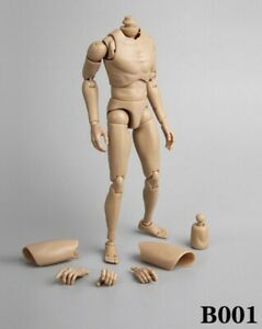 Narrow Shoulder 1:6 Scale Action Figure Male Body Toys for