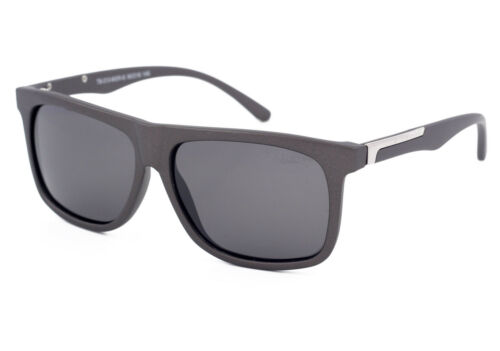 TED BROWNE London POLARISED Driving Sunglasses for Men`s Women Grey Lenses Frame