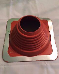 260°C hitzebeständig Dachdurchführung,Rohrmanschette,Rohrdurchführung,Silikon