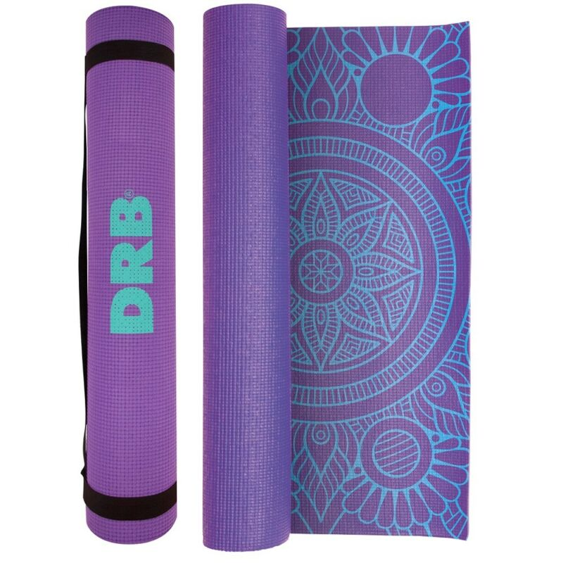 Printed Yoga Mat - Extra Thick Non-Slip Anti-Tear Mat for All Types of Yoga
