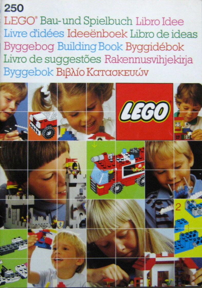 LEGO 250 Bau- und Spielbuch Ideabook 1987 52 Seiten Bauanleitungen Ideenbuch
