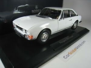 Peugeot 504 Coupe 1969 1/18 Norev (mimosa White)