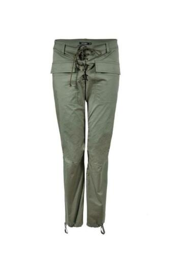 Denny Rose Art.73DR22006 Pantalone verde militare