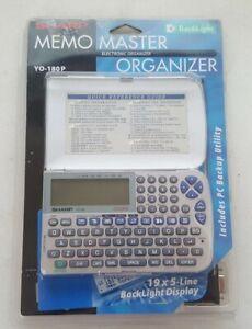 SHARP-YO-180P-Master-Electronic-Organizer
