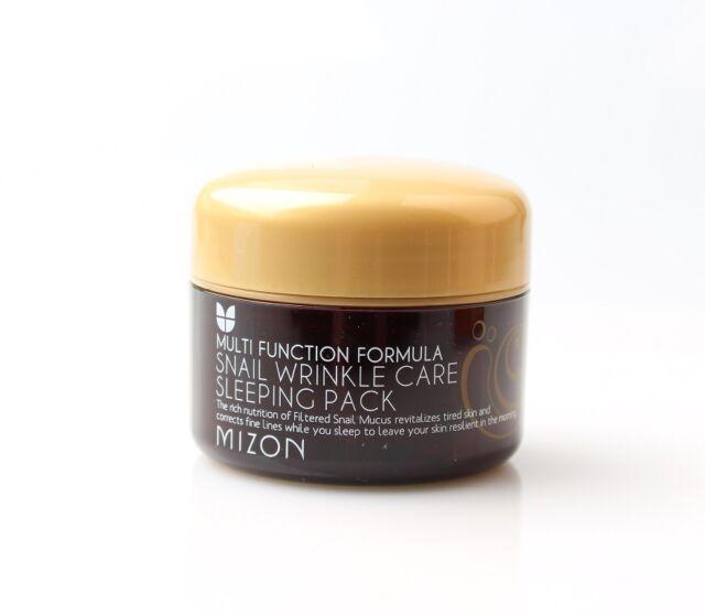 Mizon Snail Wrinkle Care Sleeping Pack 80ml Brand New Free Shipping