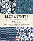 Blue & White Gift Wrapping Papers: 12 Sheets of High-Quality 18 x 24 inch Wrapping Paper by Tuttle Publishing (Paperback, 2016)