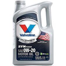 Valvoline 0w-20 Synpower Full Synthetic Motor Oil - 5qt 813460