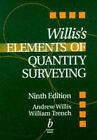 Elements of Quantity Surveying by William Trench, J.Andrew Willis (Paperback, 1998)
