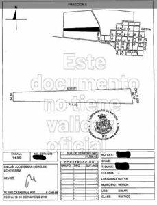 Terreno en venta Mérida de 5 ha, ideal para desarrolladores en Dzityá, Mérida