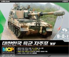 Academy 1/48 ROK ARMY K9 Self-propelled Howitzer Armor Plastic Model Kit 13312