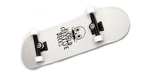 Grafica legno dito Skateboard World-Creative MINI LOGO//SWZ//ws Fingerboard