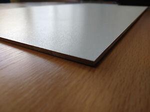 Details about 5 10 20 25 600mm x 400mm Laser WHITE FACED MDF Sheets Boards  MDF Melamine