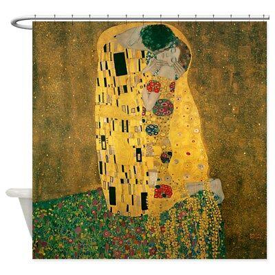 CafePress Gustav Klimt The Kiss Shower Curtain 662518488