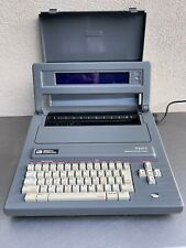 Smith Corona Pwp 3 Personal Word Processor W Lid Cover Gray