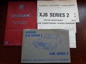 Jaguar XJ6 Service Handbook Wiring Diagrams & Dealer book ...