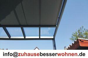 Unterdachbeschattung - Markise für Terrassendach Terrassenüberdachung 4,5x4m - Essen, Deutschland - Unterdachbeschattung - Markise für Terrassendach Terrassenüberdachung 4,5x4m - Essen, Deutschland