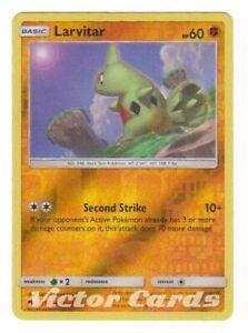 Lost Thunder Mint Pokemon Card Larvitar 115//214 Reverse Holo