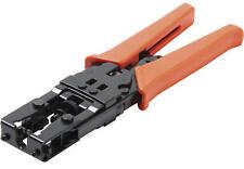 Pro. Coaxial Cable Compression Crimp Tool (F, BNC, RCA)