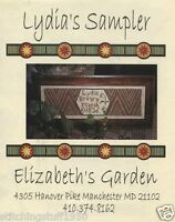 Elizabeth's Garden: Lydia's Sampler