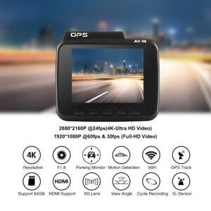 construido en GPS Wifi Azdome GS63H 4K Cámara Frontal Visión Nocturna Cámara en Tablero